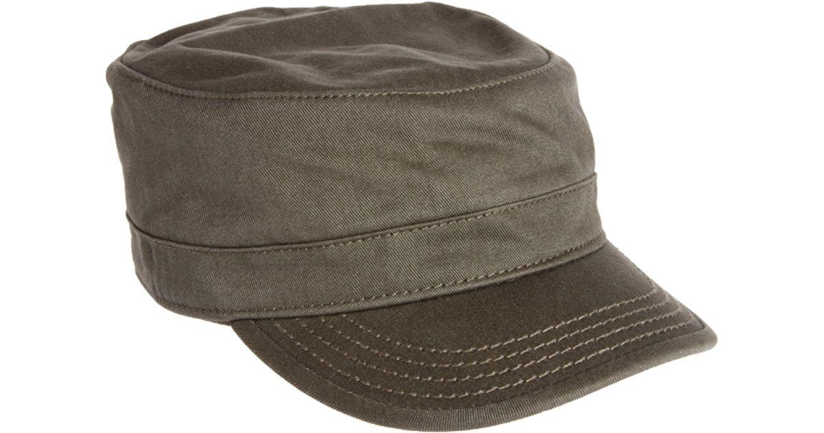 8f6574712d421 DIESEL Celove Military Cap in Natural for Men - Lyst