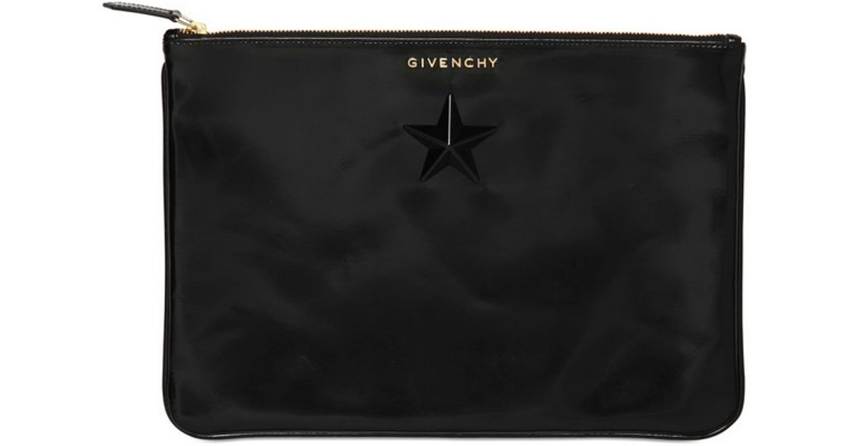 36c5943e9a18 Lyst - Givenchy Horn Star Soft Leather Big Pouch Bag in Black for Men