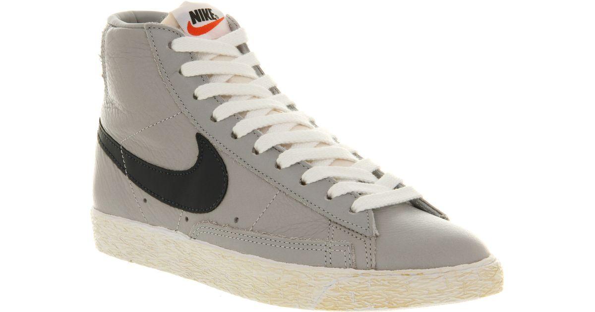 Nike Blazers Inverse Mens Gris