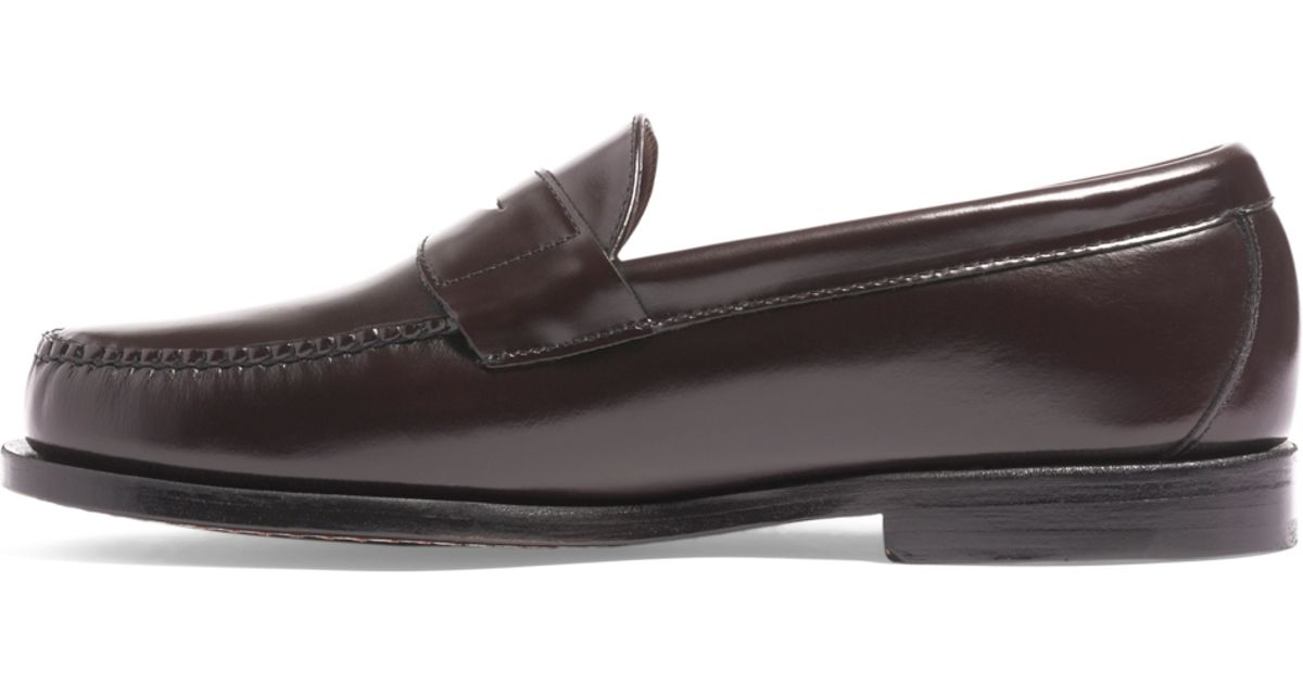 3e1dd3c4f38 Brooks Brothers Classic Penny Loafers in Brown for Men - Lyst