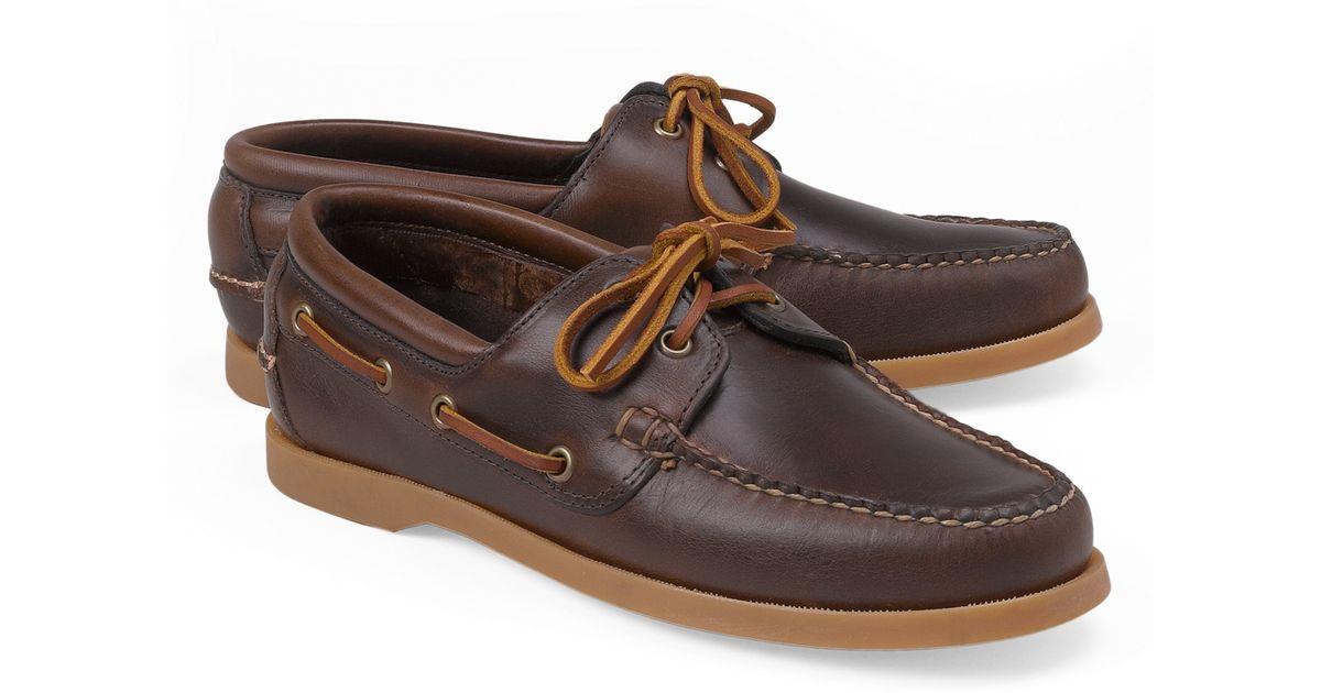 Bally Leather Boat Shoes