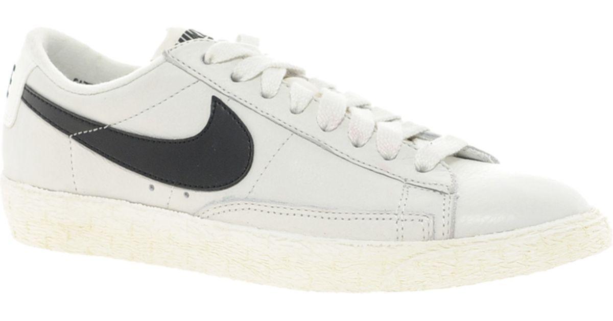 Nike Chaussures En Cuir Blazer