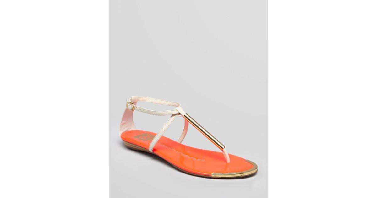 4e54f42a1084 Lyst - Dolce Vita Dv Sandals Archer in Orange