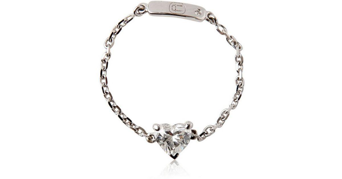 69b4705a3d4d3 Alexander Fuchs - Metallic Chain Gold Collection Ring - Lyst