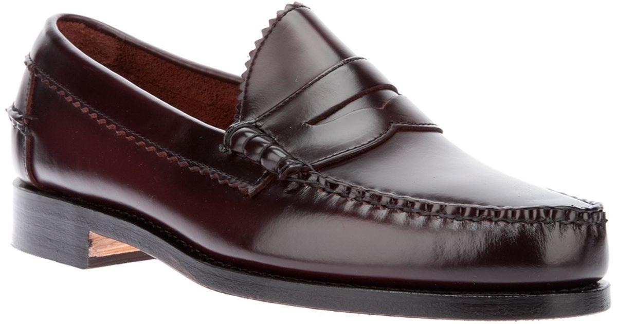 f47b5459bb7 Lyst - Allen Edmonds  kenwood  Slip-on Loafer in Red for Men
