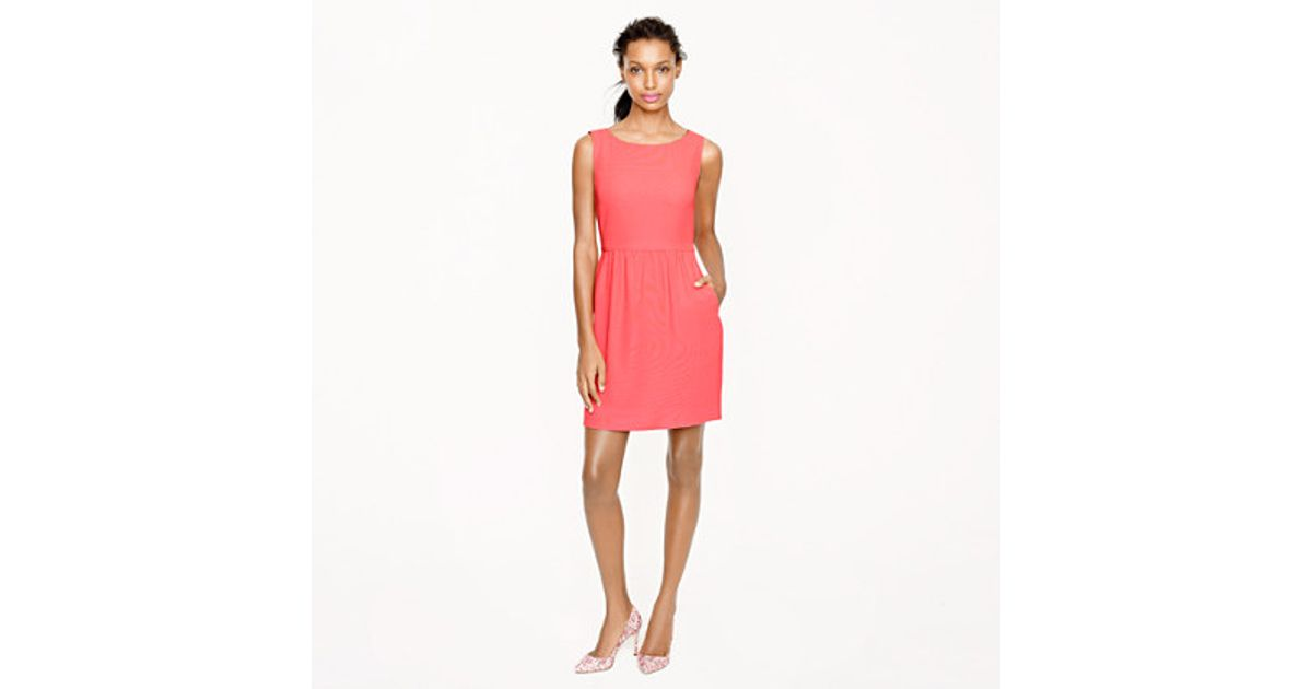6bb92d4730 Lyst - J.Crew Camille Dress in Pink