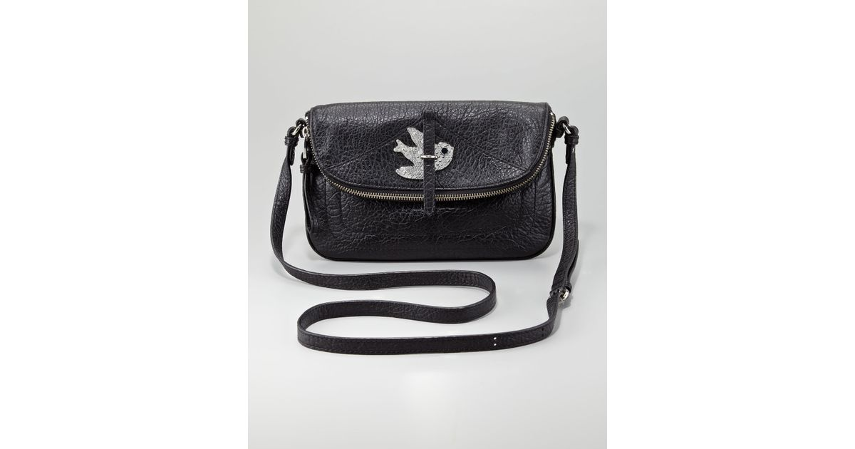 7bcee07330d6 Lyst - Marc By Marc Jacobs Petal To The Metal Percy Crossbody Bag in Black