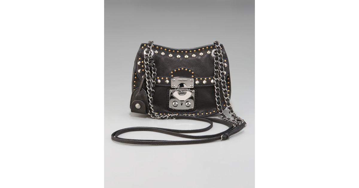 Miu Miu Studded Flap Bag