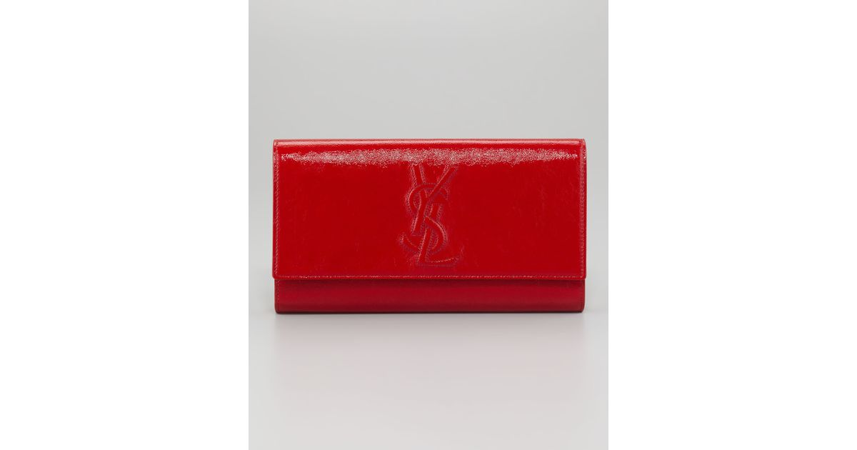 replica yves saint laurent lutetia clutch purple
