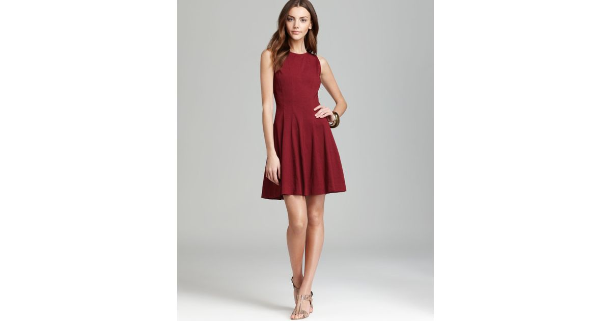Theory Dress Tilifi in Red | Lyst