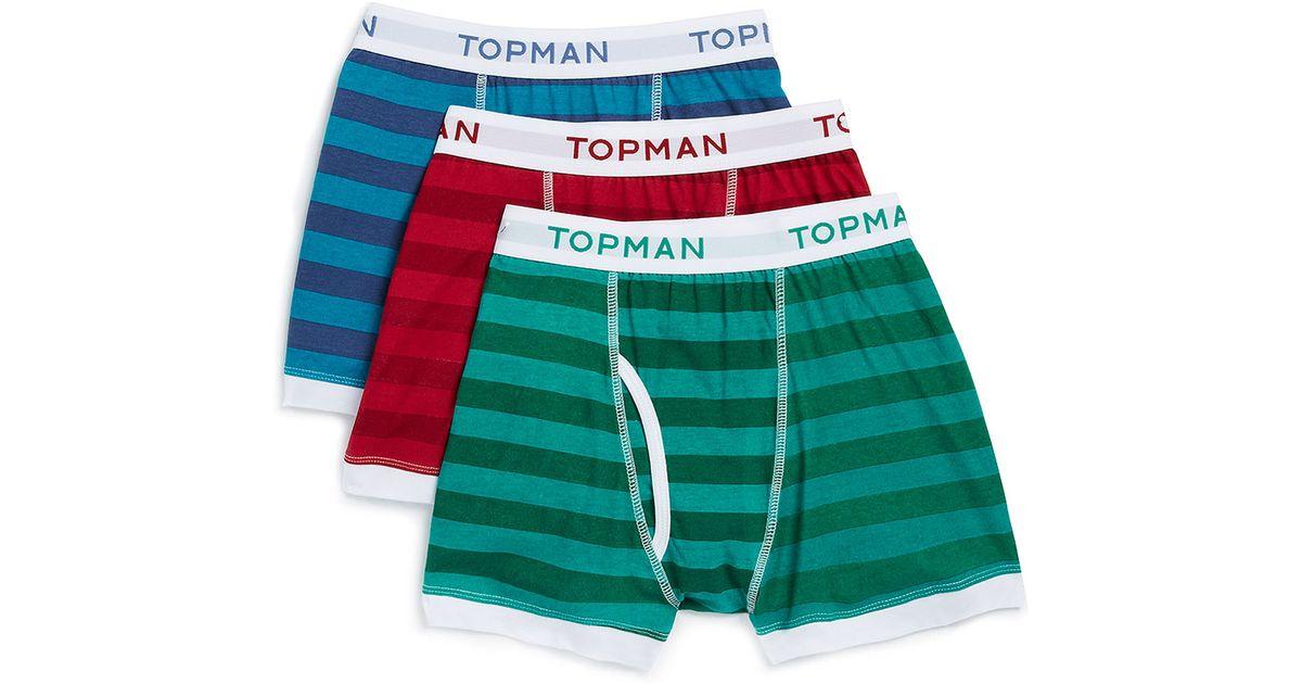 outlet boutique best website best selection of 2019 TOPMAN - Multicolor Arrow Pattern 3 Pack Underwear for Men - Lyst