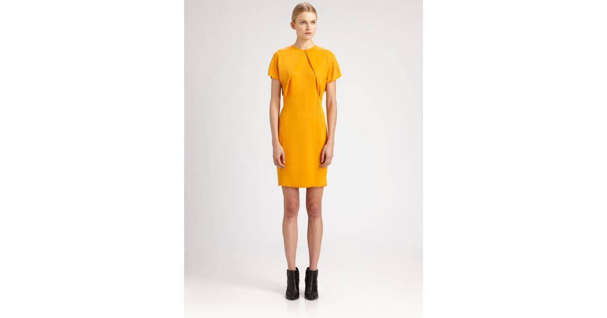 Pleated Studios Lyst Sweety Dress Acne In Orange t6fqfAxH