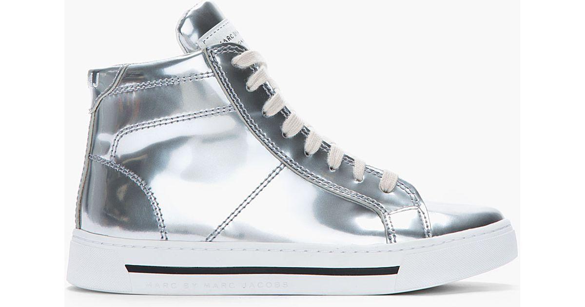 Sneaker high - silver OgJ6lKKeN