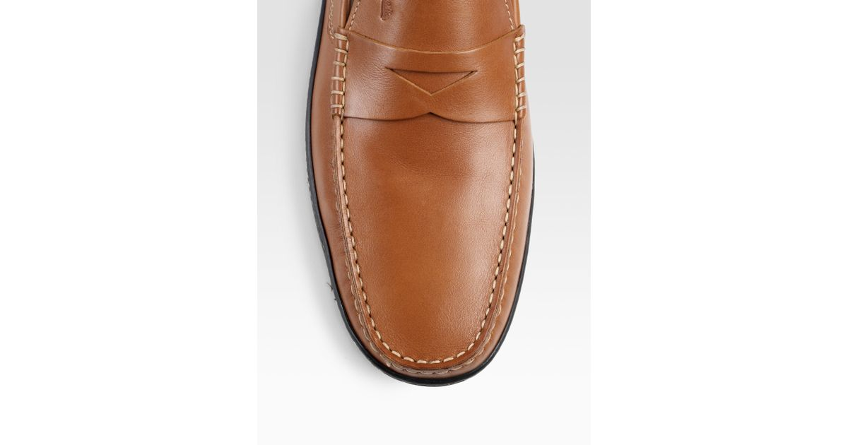 0cd590500bf Lyst - Tod s Marlin Loafers in Brown for Men