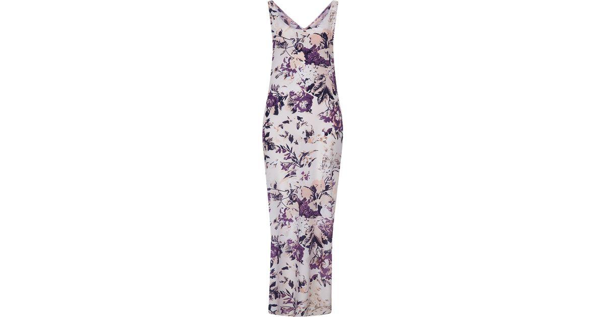 discount coupon 100% genuine 100% quality TOPSHOP Multicolor Silk Floral Maxi Dress