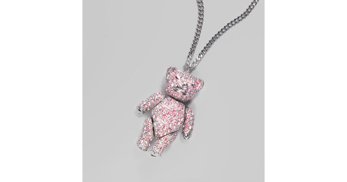 The Teddy Bear Necklace