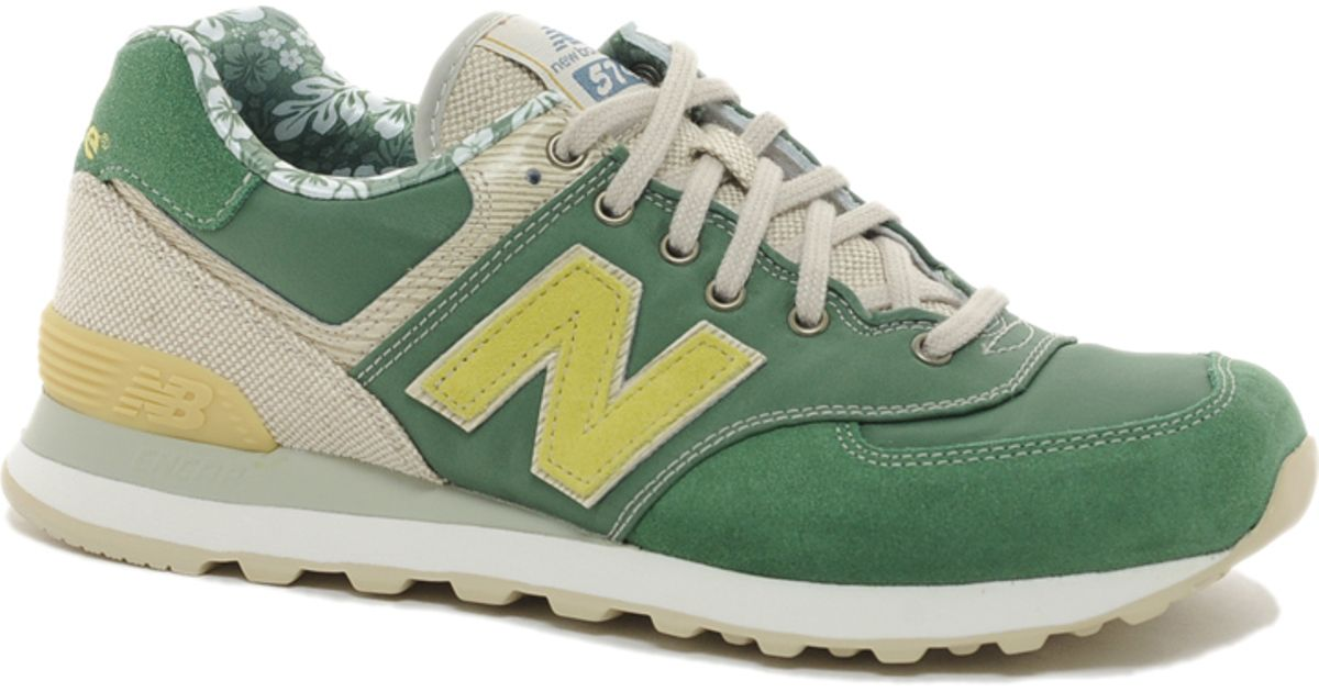 best authentic c8bfd d26b7 New Balance 574 Hawaii Trainers in Green for Men - Lyst
