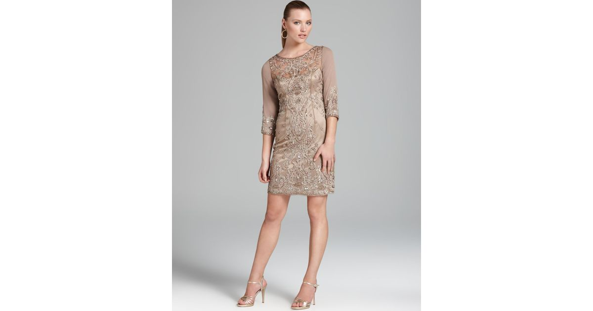 Sue Wong Evening Dresses Grey