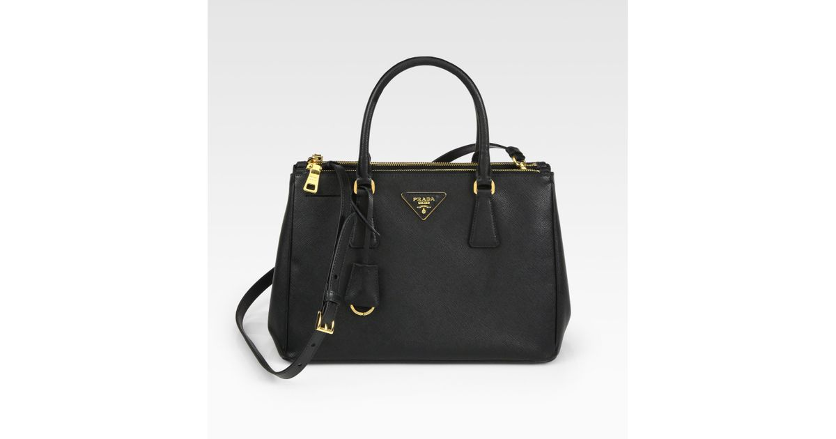 saffiano lux double-zip tote bag, where to buy prada bags ...