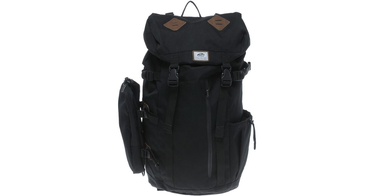 4a9c88586 Vans Depot Backpack in Black for Men - Lyst