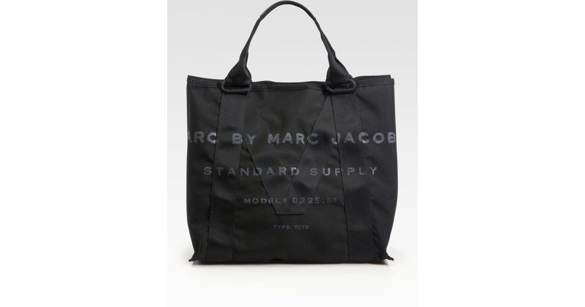 09a752b906db Lyst - Marc By Marc Jacobs M Standard Supply Canvas Tote Bag in Black