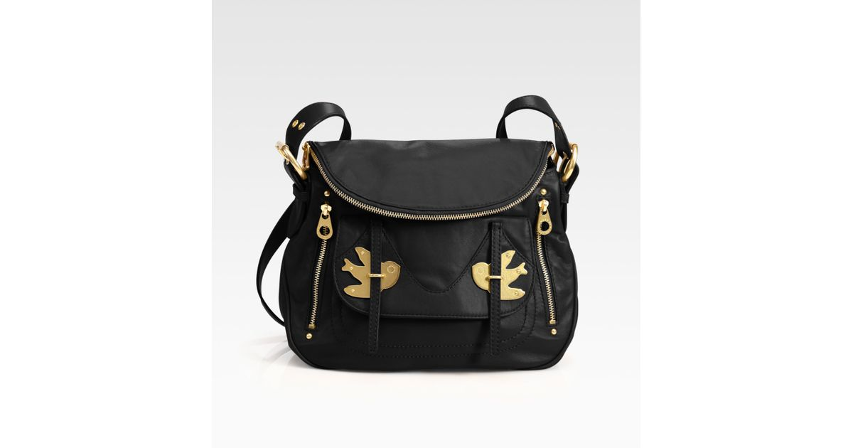 Lyst - Marc By Marc Jacobs Pedal To The Metal Natasha Shoulder Bag in Black 47d672aa0011