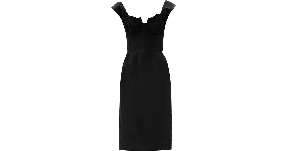 Vivienne Westwood Gold Label Silhouette Cocktail Dress In Black Lyst