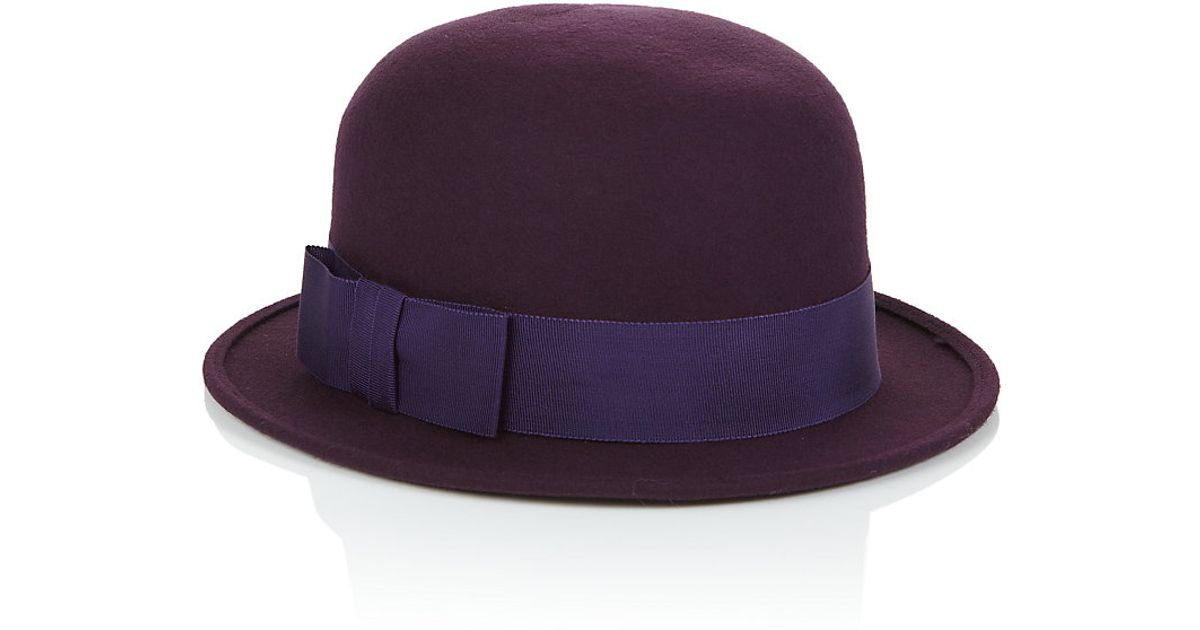 72591305e3b8a7 Christys' Bowler Hat in Purple - Lyst