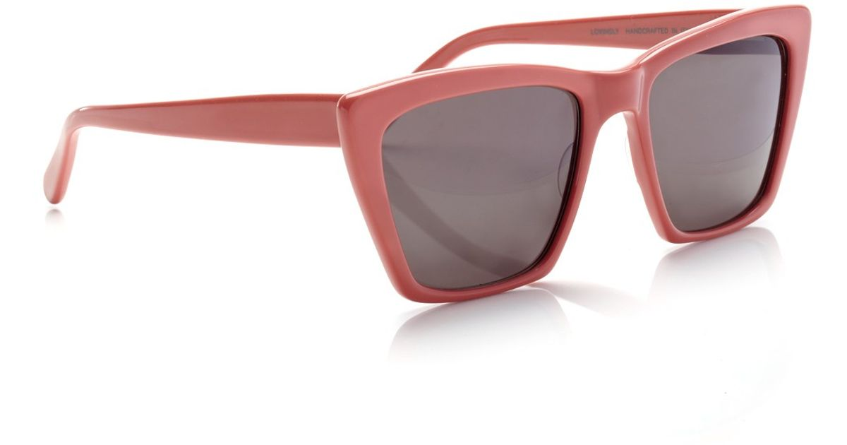 Prism Sydney Sunglasses  prism raspberry sydney sunglasses in purple lyst