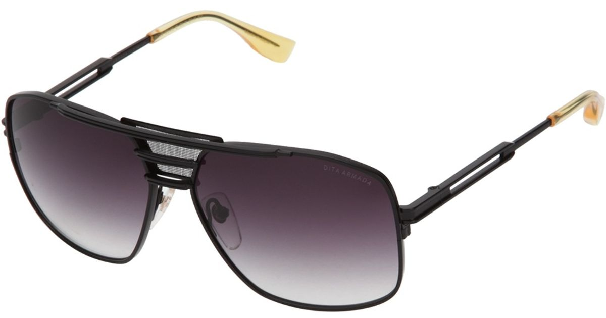 e032541a6bb Dita Armada Sunglasses In Black For Men Lyst