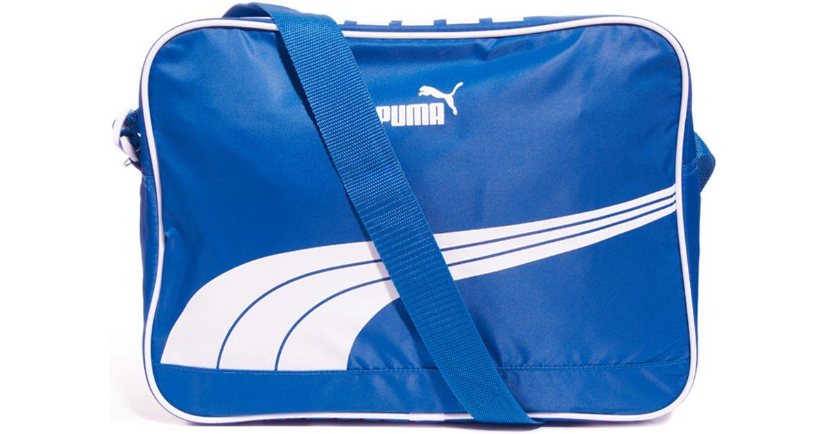 6da5d5cff34b PUMA Sole Messenger Bag in Blue for Men - Lyst