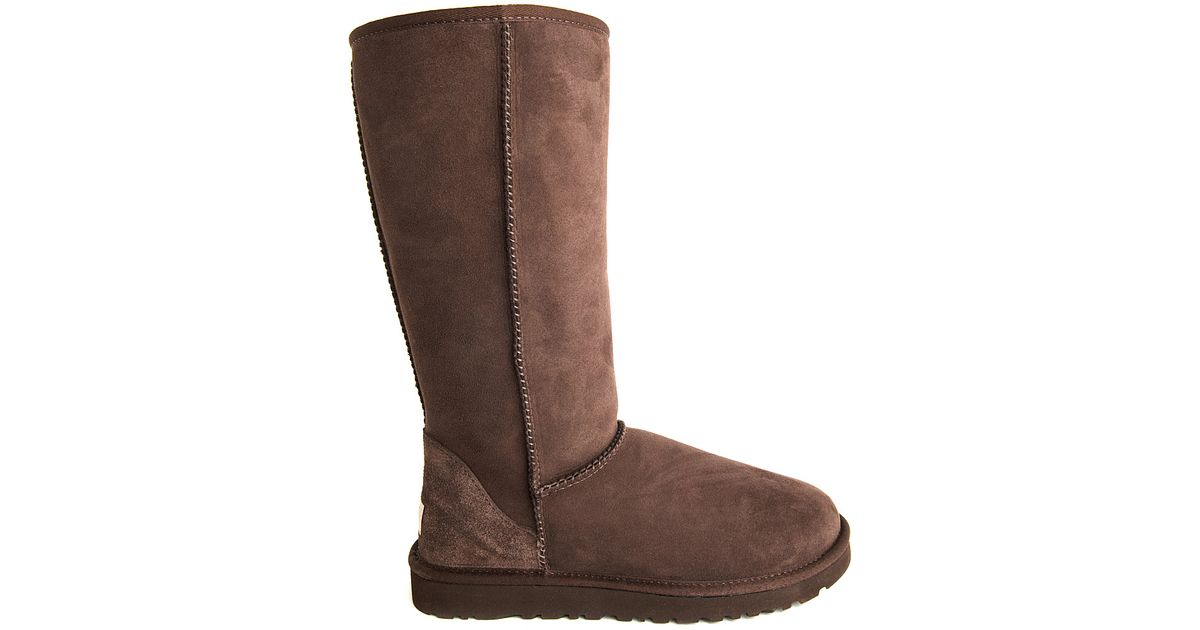 ugg boots brown tall - photo #19