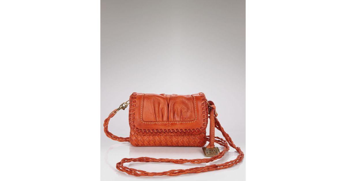 2e128be4d Frye Maddy Mini Crossbody Bag in Brown - Lyst