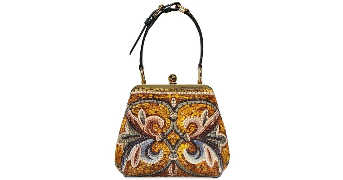 e4a3374b4d Lyst - Dolce   Gabbana -  vanda  Crossbody Bag - Women - Cotton snake  Skin viscose - One Size