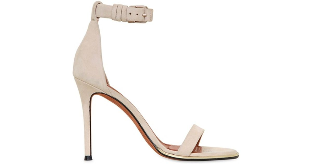 discount visit new outlet shop for Givenchy Suede Ankle Strap Sandals sneakernews cheap price bcKSQR4Lvs