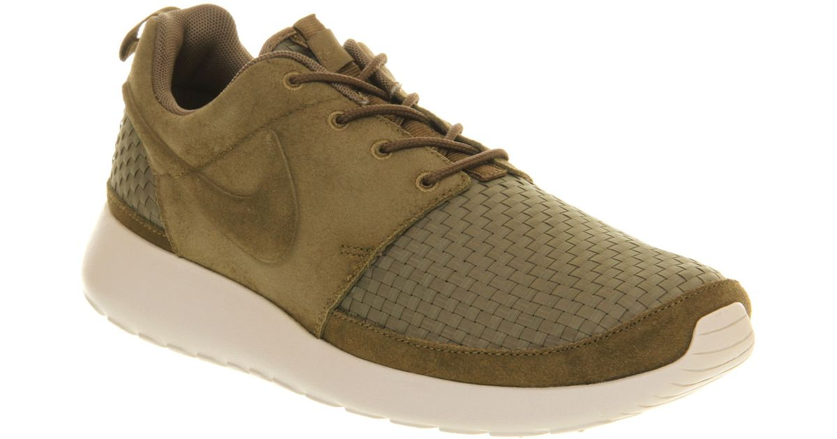Drop Shipping Nike Roshe Run Olive Green Black Brown Camo 655206 203 Men's Women's Outlet Casual Shoes Trainers