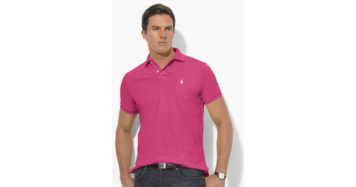 Ralph Lauren Classic Black Big Pony Pink Breathable Short Sleeve. Polo ralph lauren Classic Fit