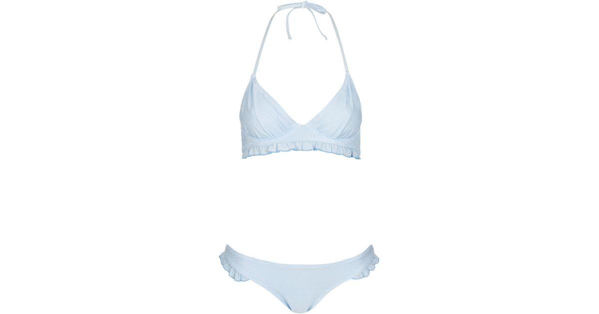 Pale blue bikini