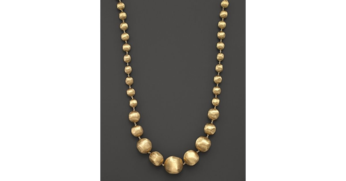 Marco Bicego 18K Gold Africa Necklace, 17