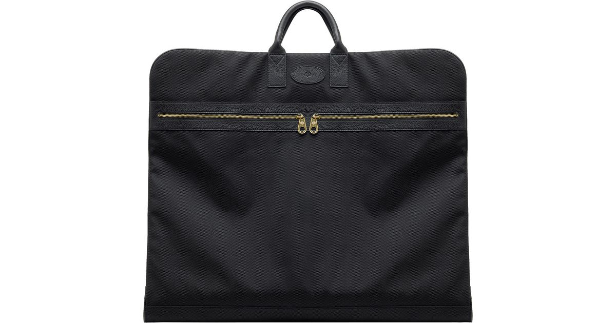 1879463ba483 Mulberry Henry Suit Carrier in Black for Men - Lyst