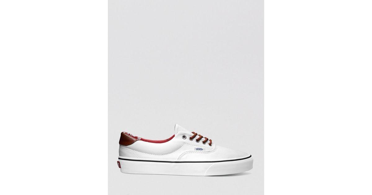 5ba7e4ed885f8e Lyst - Vans Era 59 Aloha Sneakers in White for Men