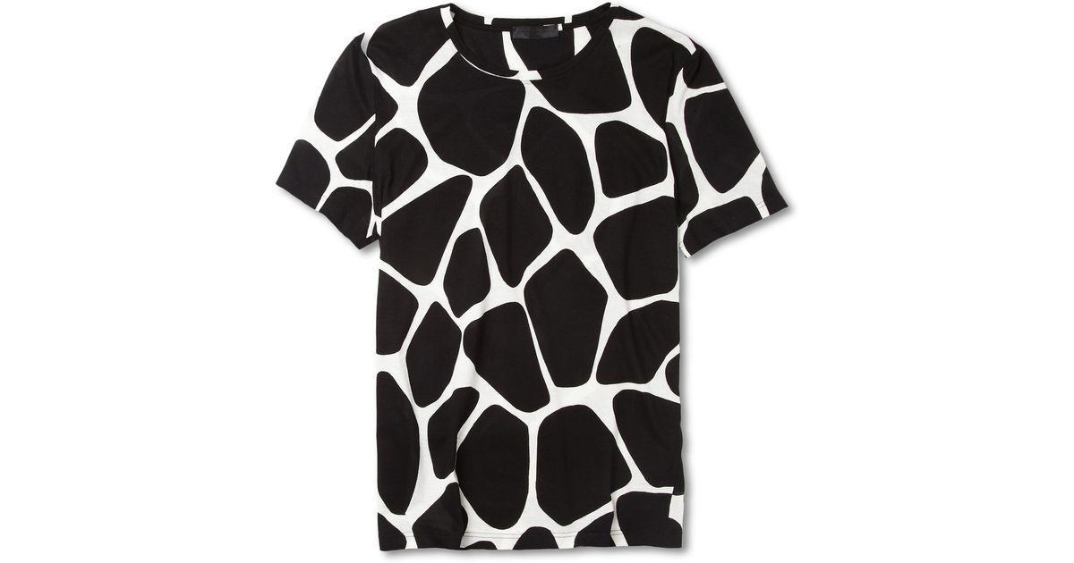 1fb52711 Burberry Prorsum Giraffe-print Cotton-jersey T-shirt for Men - Lyst