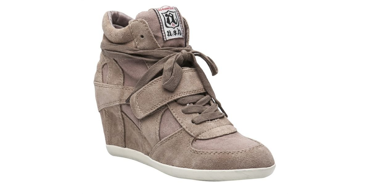 Lyst - Ash Bowie Wedge Sneaker in Gray
