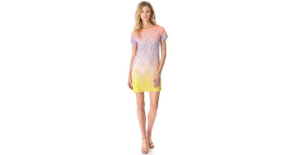 Lyst - Antik Batik Albora Sequin Dress aa633e9fb