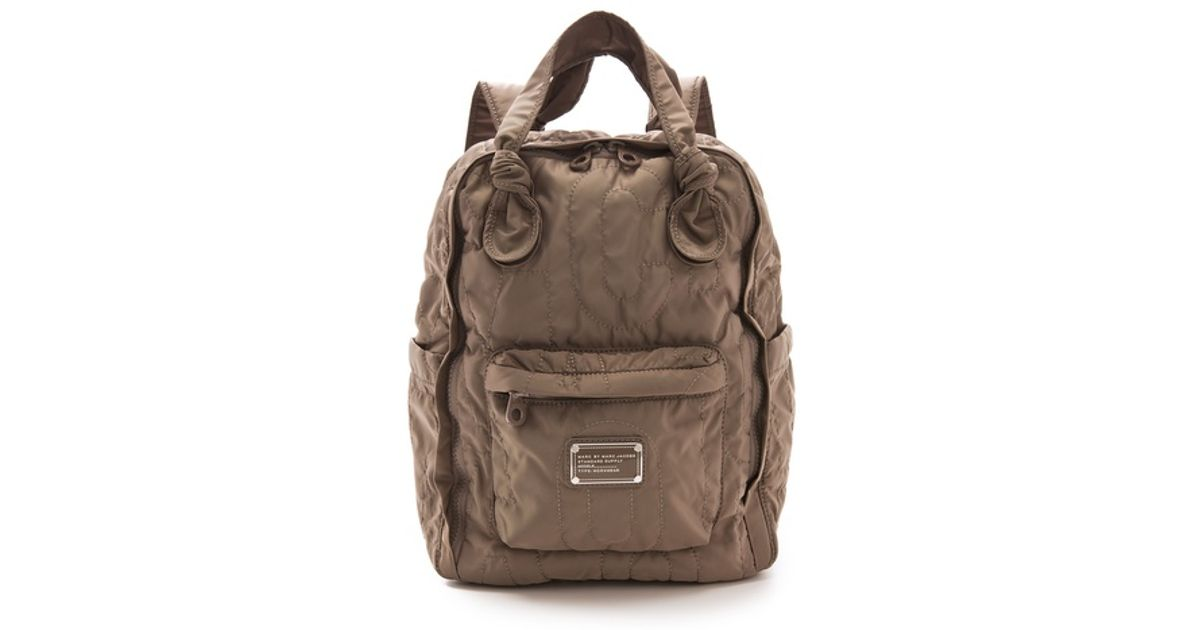 a076356d168a Lyst - Marc By Marc Jacobs Pretty Nylon Knapsack in Gray