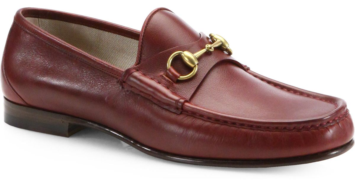28ed1e4126b Gucci Mens Bit Loafers Sale