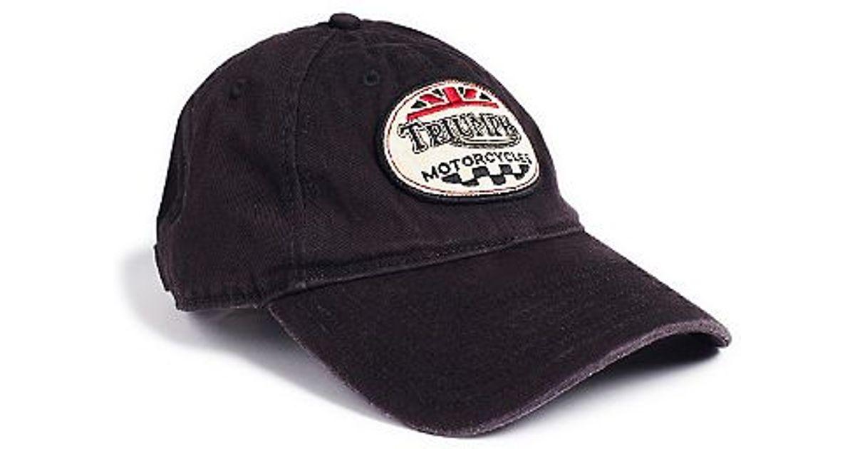 c571c46bd20 Lyst - Lucky Brand Triumph Baseball Cap in Brown for Men