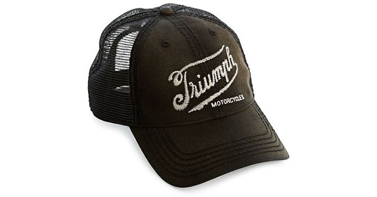 Lyst - Lucky Brand Triumph Baseball Cap in Black for Men 2904c4664c6