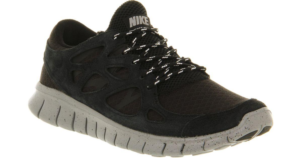 premium selection 83808 30525 Lyst - Nike Free Run 2 Black Metallic Silver in Black