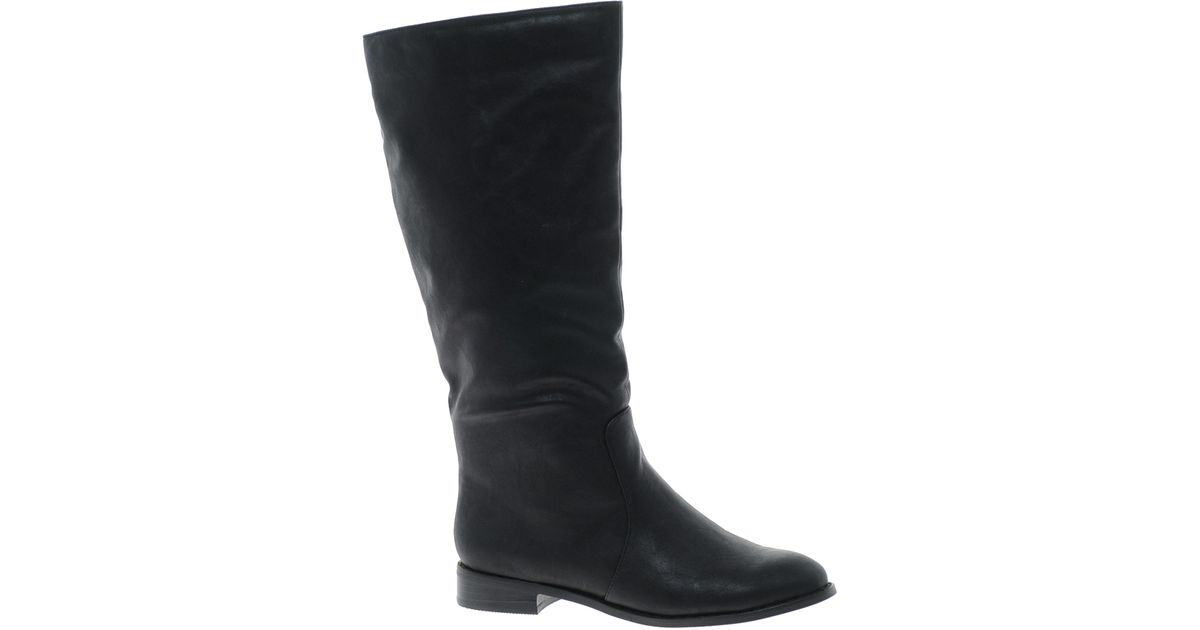 9c3b2565403 Lyst - ASOS Candy Knee High Boots in Black